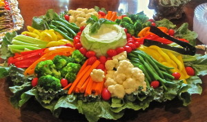 Healthy Vegetable Platter