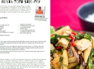 Vegetable Fiesta Tofu StirFry
