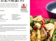 Vegetable Fiesta Tofu StirFry
